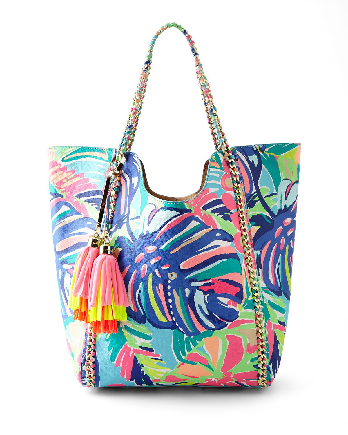 7d0ae88811 Lilly Pulitzer Exotic Garden Reversible Pool Tote