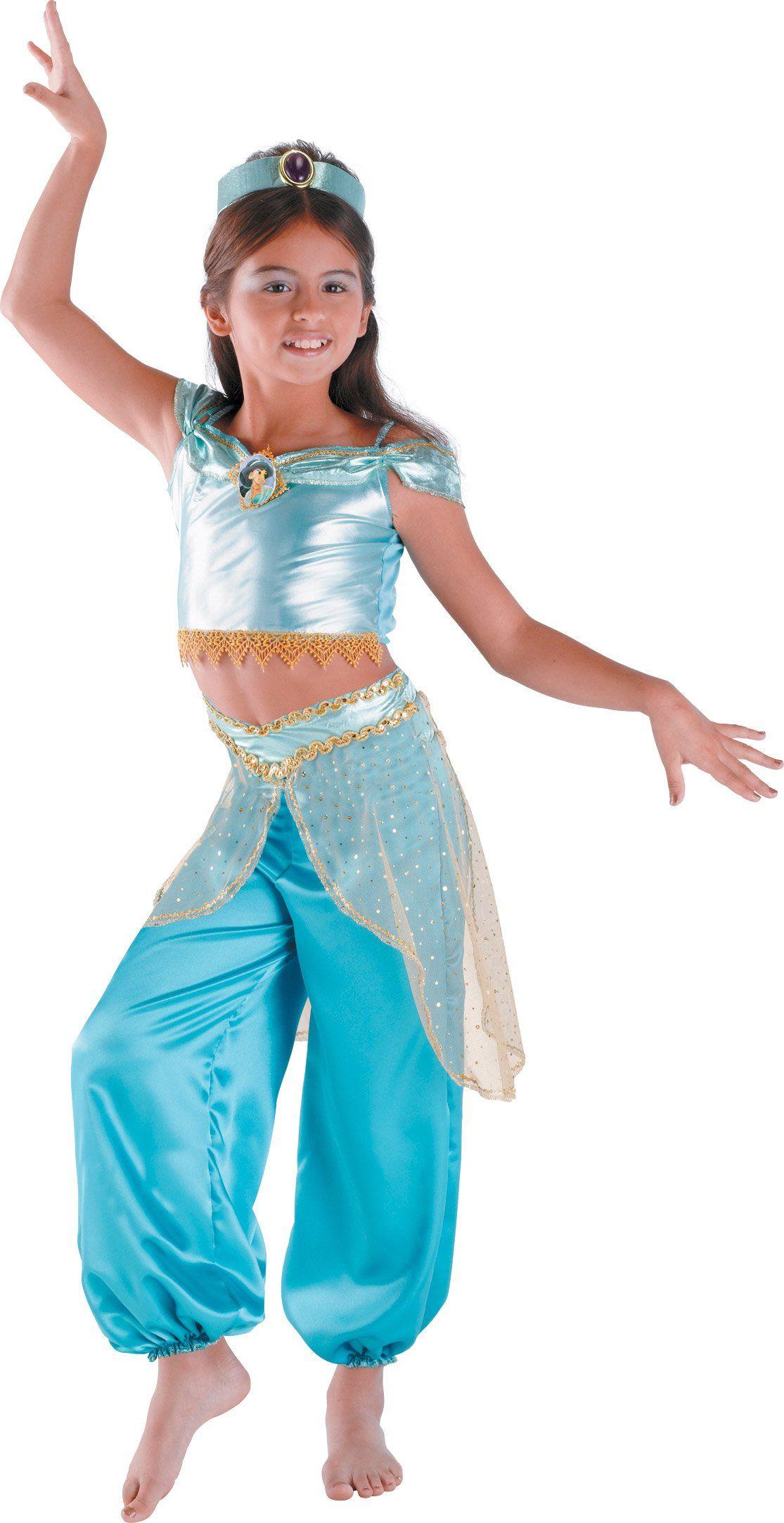 Disney Aladdin Princess Jasmine Classic Child Costume