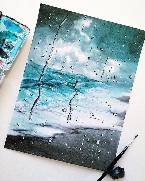 Pinterest Nor Syafiqah Art Drawings Watercolor Art Diy