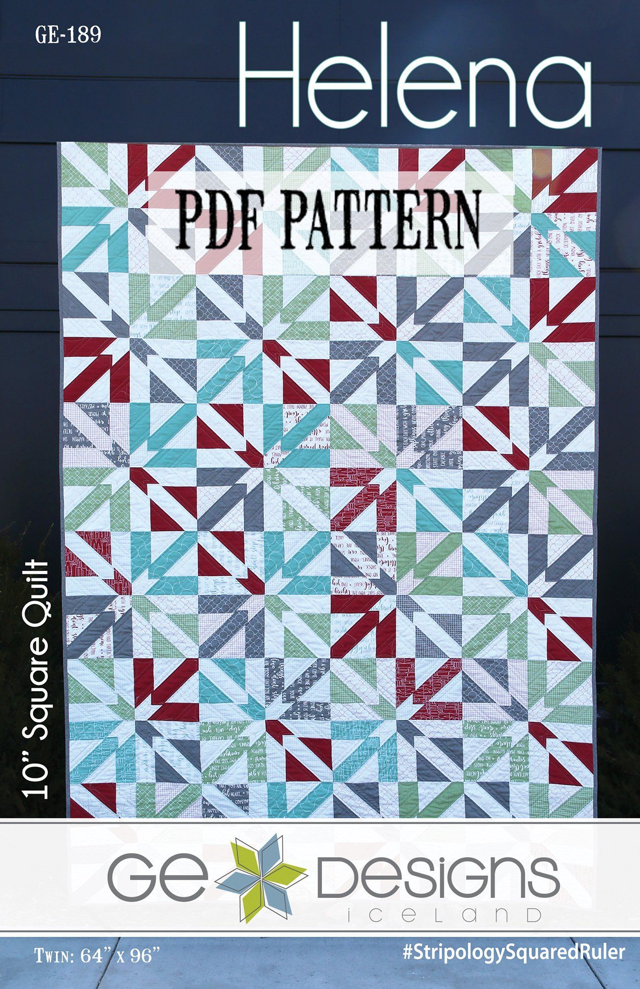 Helena 10 Square Pdf Pattern Quilt Patterns Quilts Square Patterns