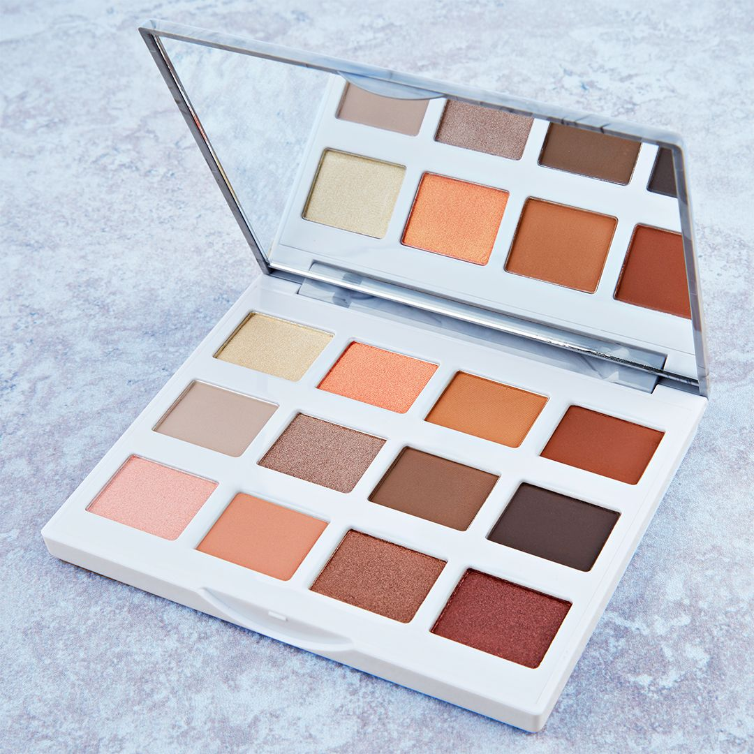 Bh Cosmetics Marble Collection Warm Stone Palette Make
