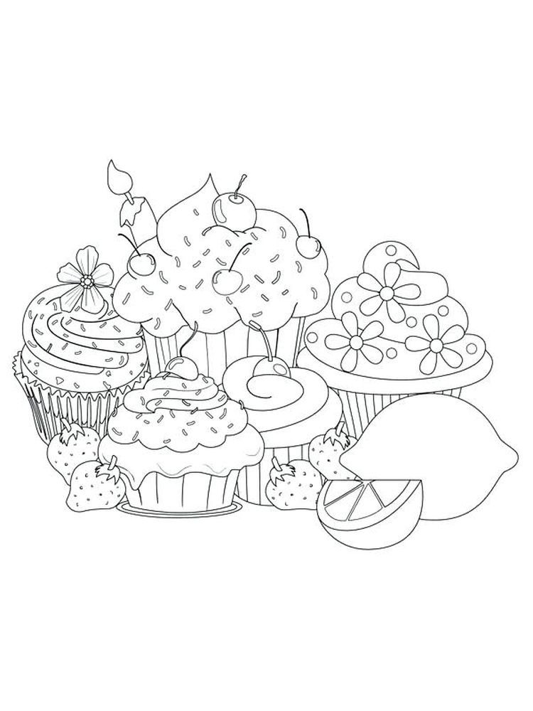 Shopkins Coloring Pages Cupcake Queen Cupcake Is A Cake In A Cup