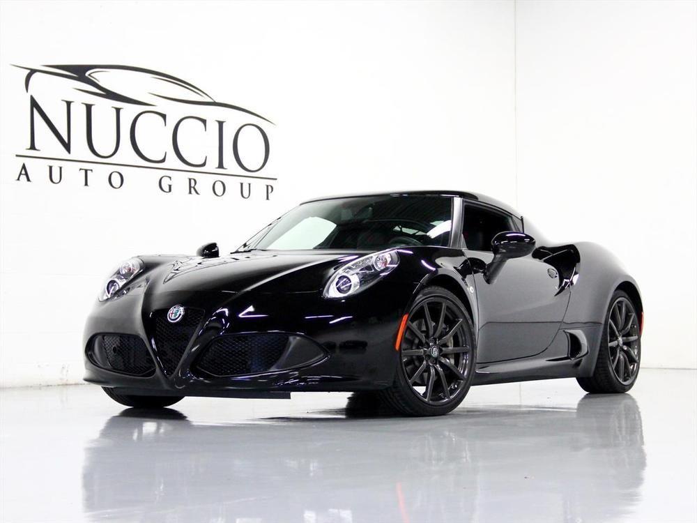2017 Alfa Romeo 4c Coupe 2017 Alfa Romeo 4c Coupe Black Black