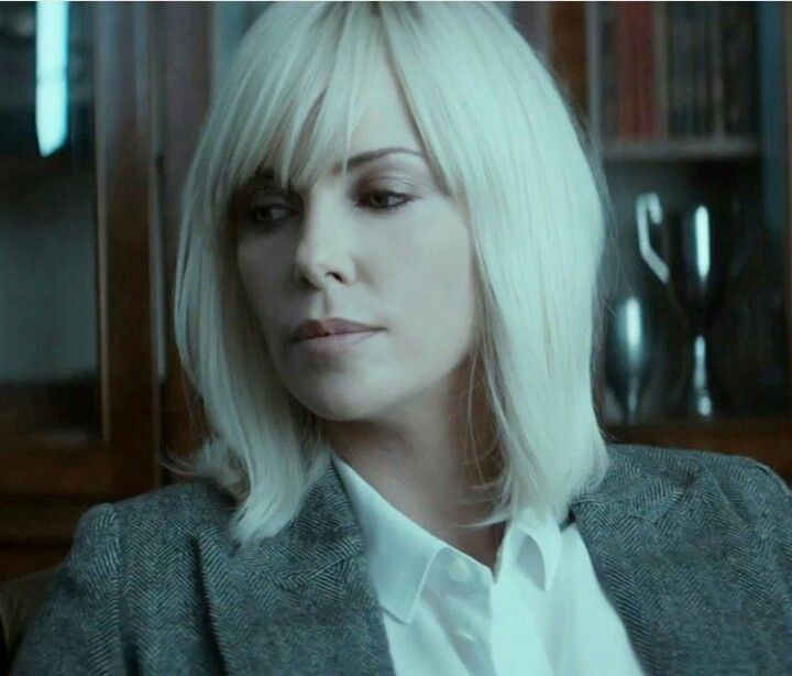 Charlize Theron Ny Blondes: Charlize Theron In Atomic Blonde