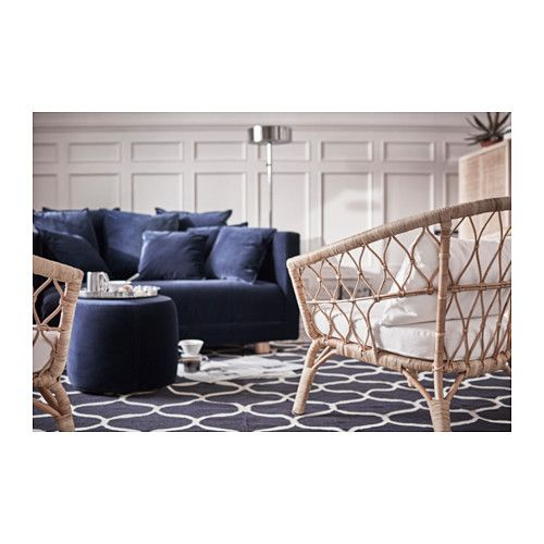 STOCKHOLM 2017 Armchair, rattan | Ikea, Oscuro y Sillones