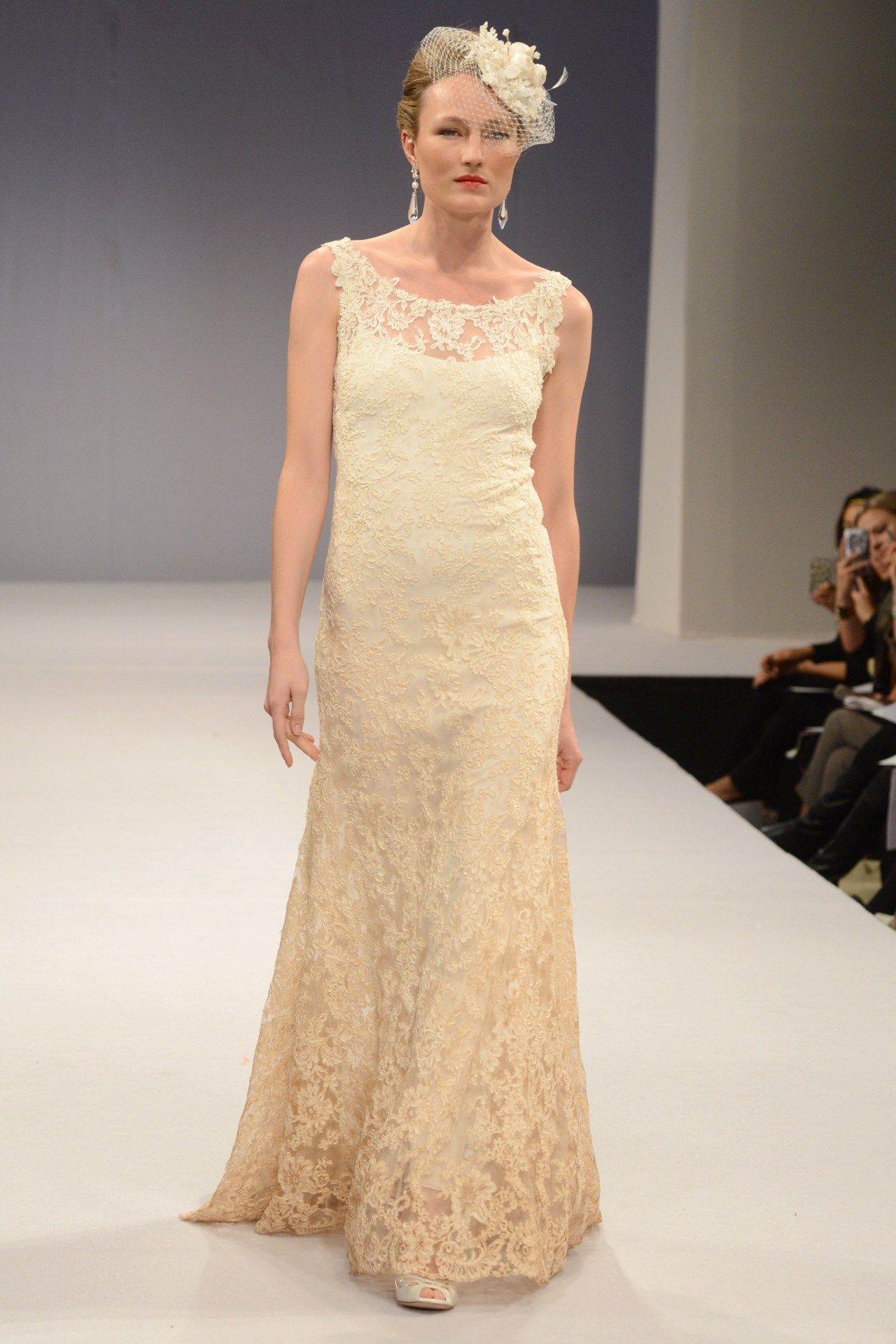 Champagne and ivory wedding dress  Wedding Dresses  The Ultimate Gallery BridesMagazine  Anne