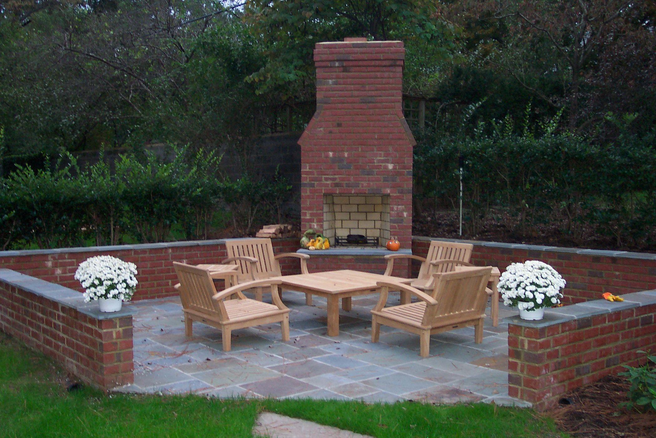 Modern Cinder Block Outdoor Fireplace Home Decor waplag