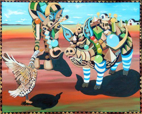 Jude Bischoff Modern Animals Pinyon the Poet Pig