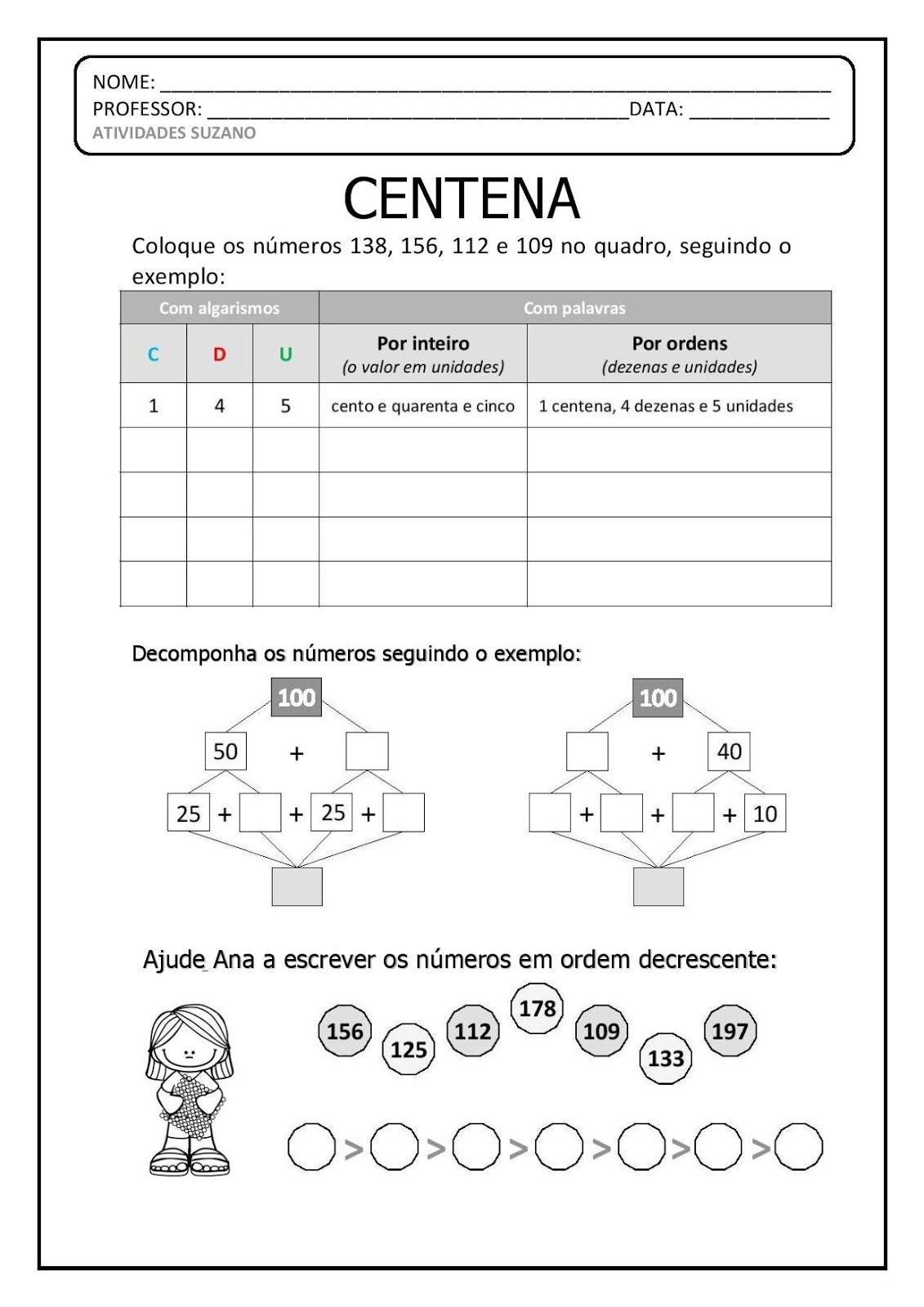 Clique Aqui Para Baixar Em Pdf Ejercicios Matematicas 3 Primaria Matematicas Tercer Grado Actividades Para Primaria
