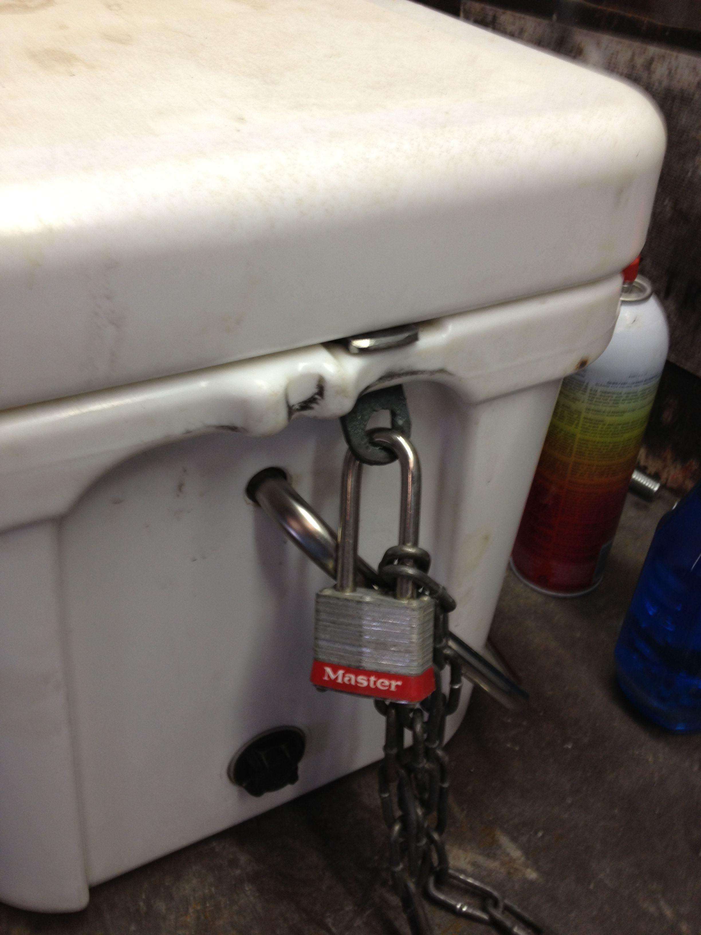 Yeti Lock Brackey Yeti lock, Home hacks, Home decor