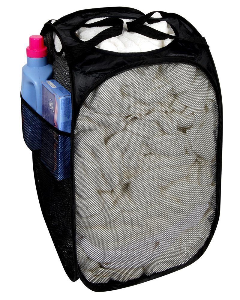 Laundry Supplies 2 Mesh Laundry Bags Sports Hampers College Supplies