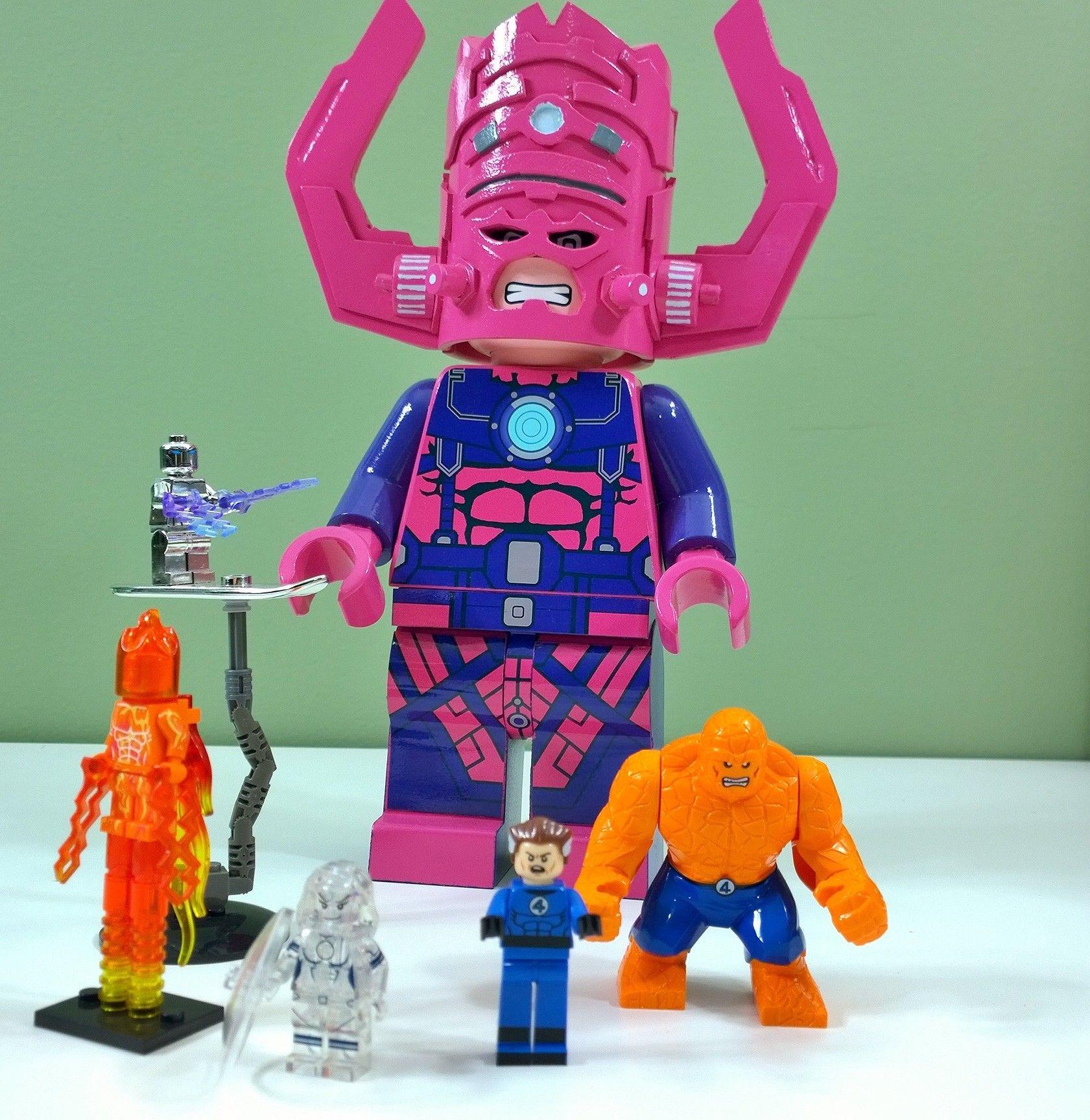 Lego Galactus Fantastic Four Custom Lego Creations