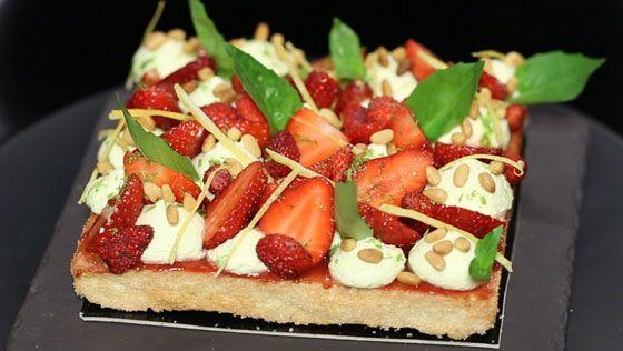 fraisier moderne de christophe michalak - recettes - dans la peau