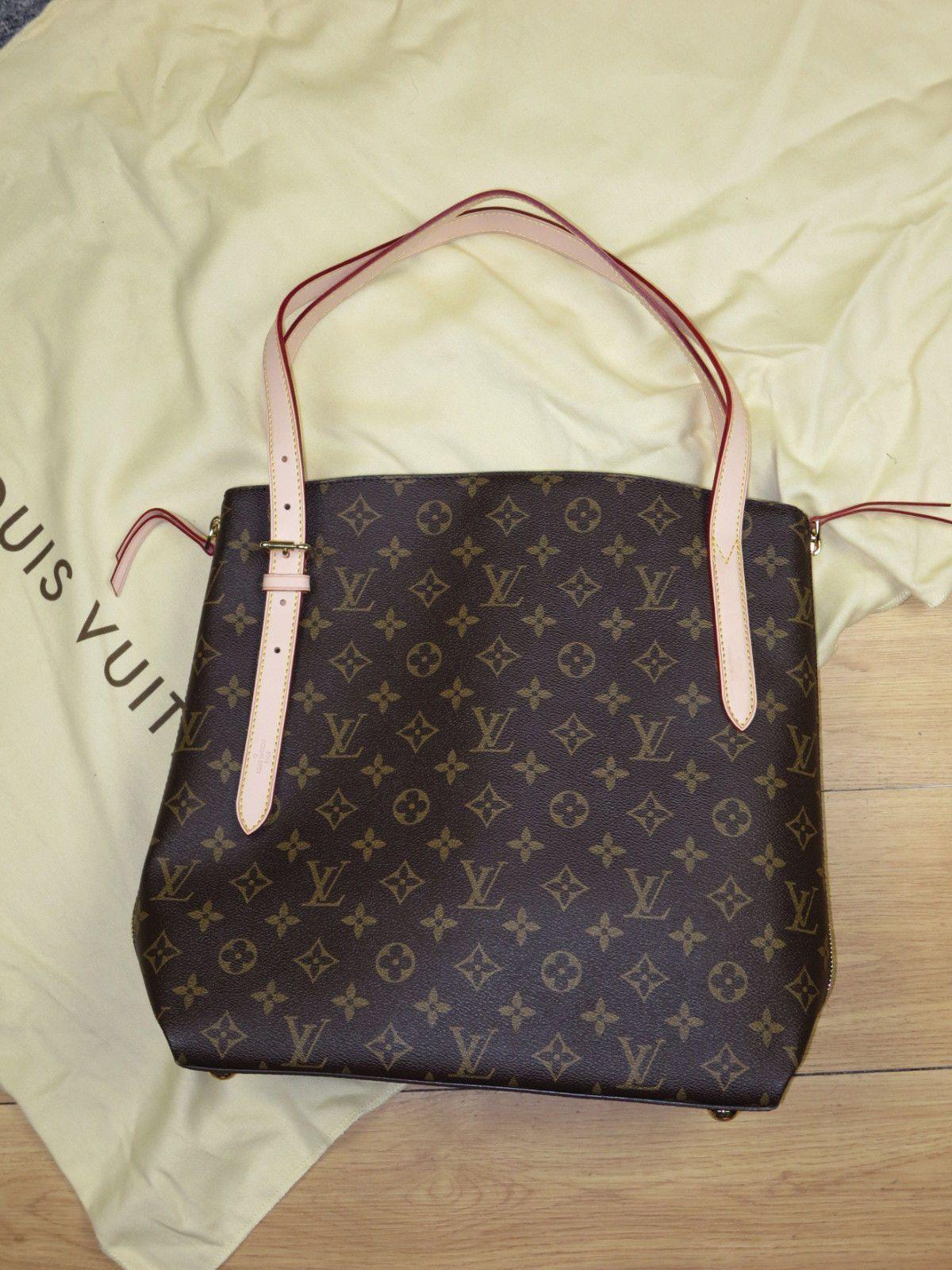 b17b9a33577a Pre-owned   Used Louis Vuitton Handbag Neverfull Voltaire M41208 Monogram  Canvas  Louisvuittonhandbags