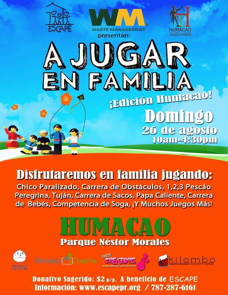 A Jugar en Familia: Humacao.