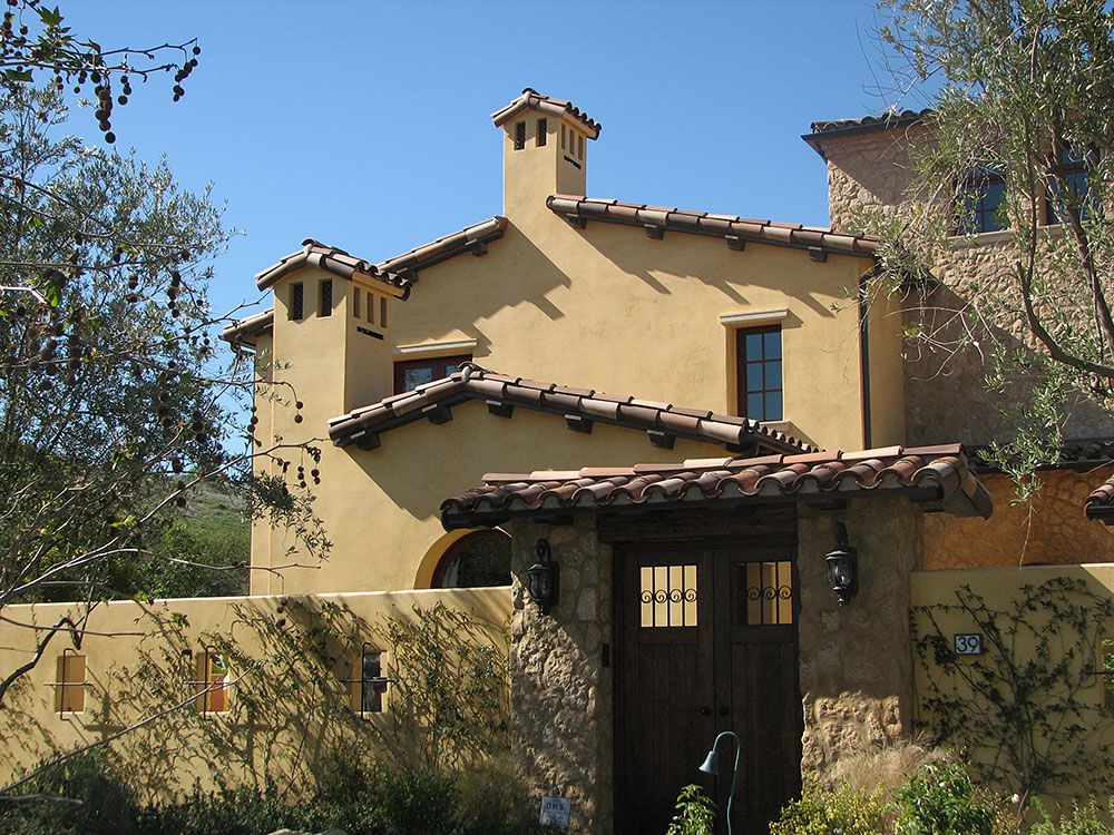 Exterior stucco all about santa barbara finish color for Exterior house finishes
