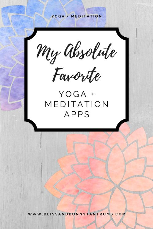 The yoga + meditation apps market has been so saturated
