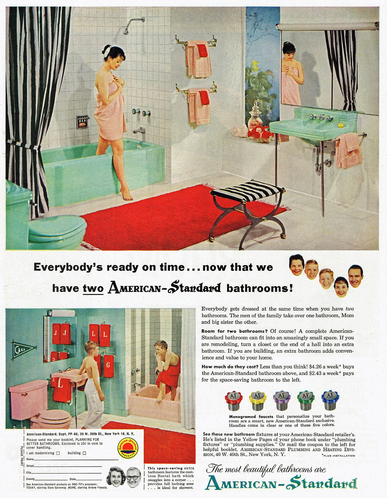 I Have Both The Pink And Mint Green American Standard Bathrooms Retro Mid Century Modern Bathroom American Standard