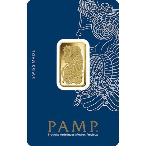 10 Gram Pamp Suisse Fortuna Veriscan Gold Bar New W Assay Gold Bar Gold Bullion Bars Gold Bullion