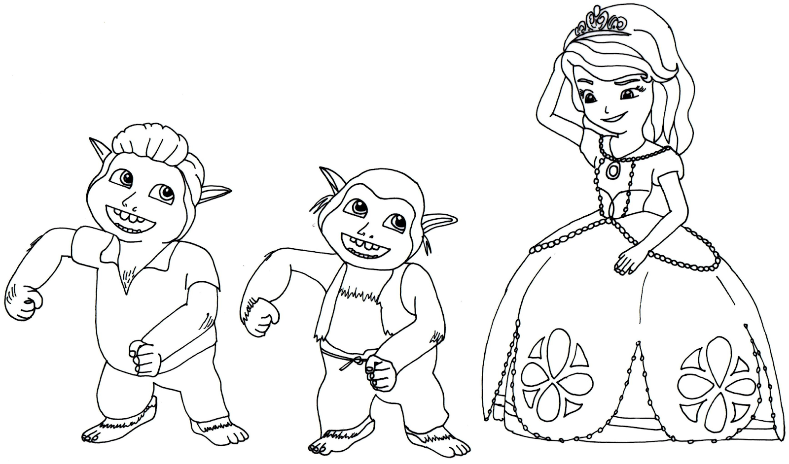 Coloring pages of princess sofia - Princess Sofia Coloring Page Google S Gning