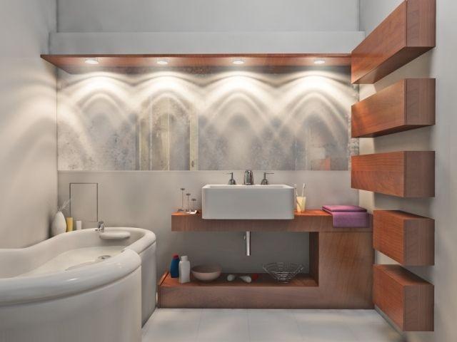 Luminaire salle de bains plus de confort espace - 23 idées