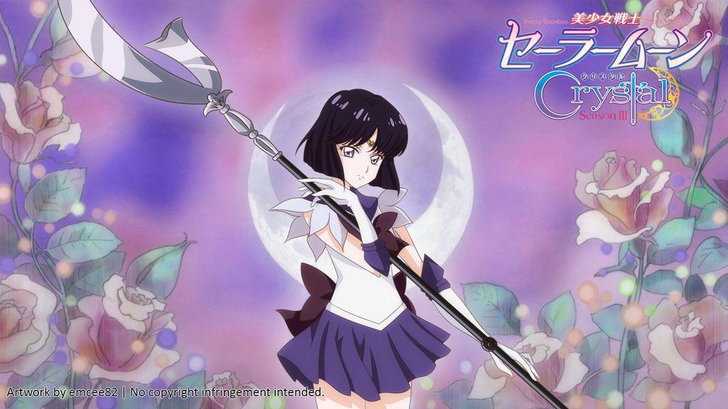 Sailor Saturn Wallpaper By Emcee82 Sailor Saturn Sailor Moon Crystal Watch Sailor Moon