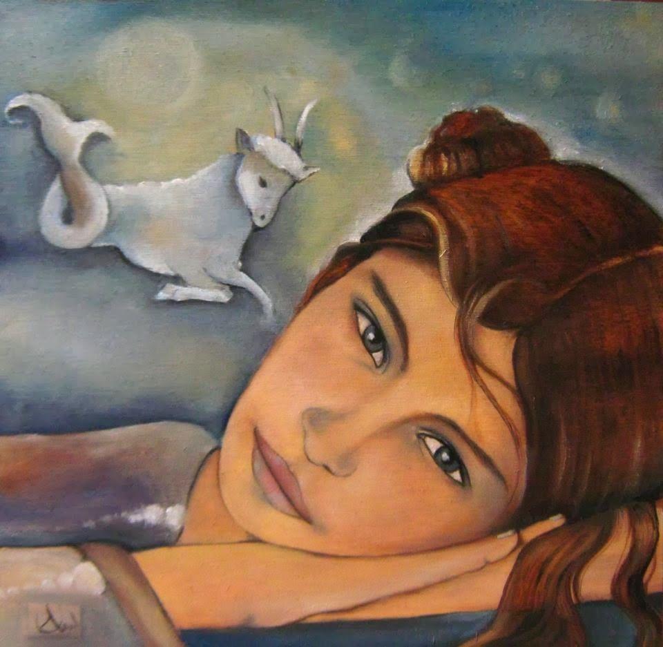 by Claudia Tremblay (was born In Amos, Québec)