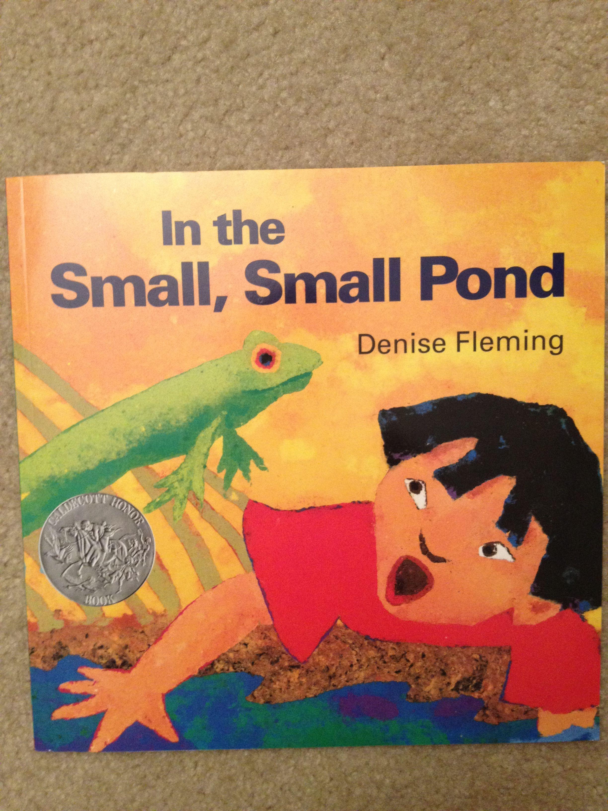 Preschool Pond Book