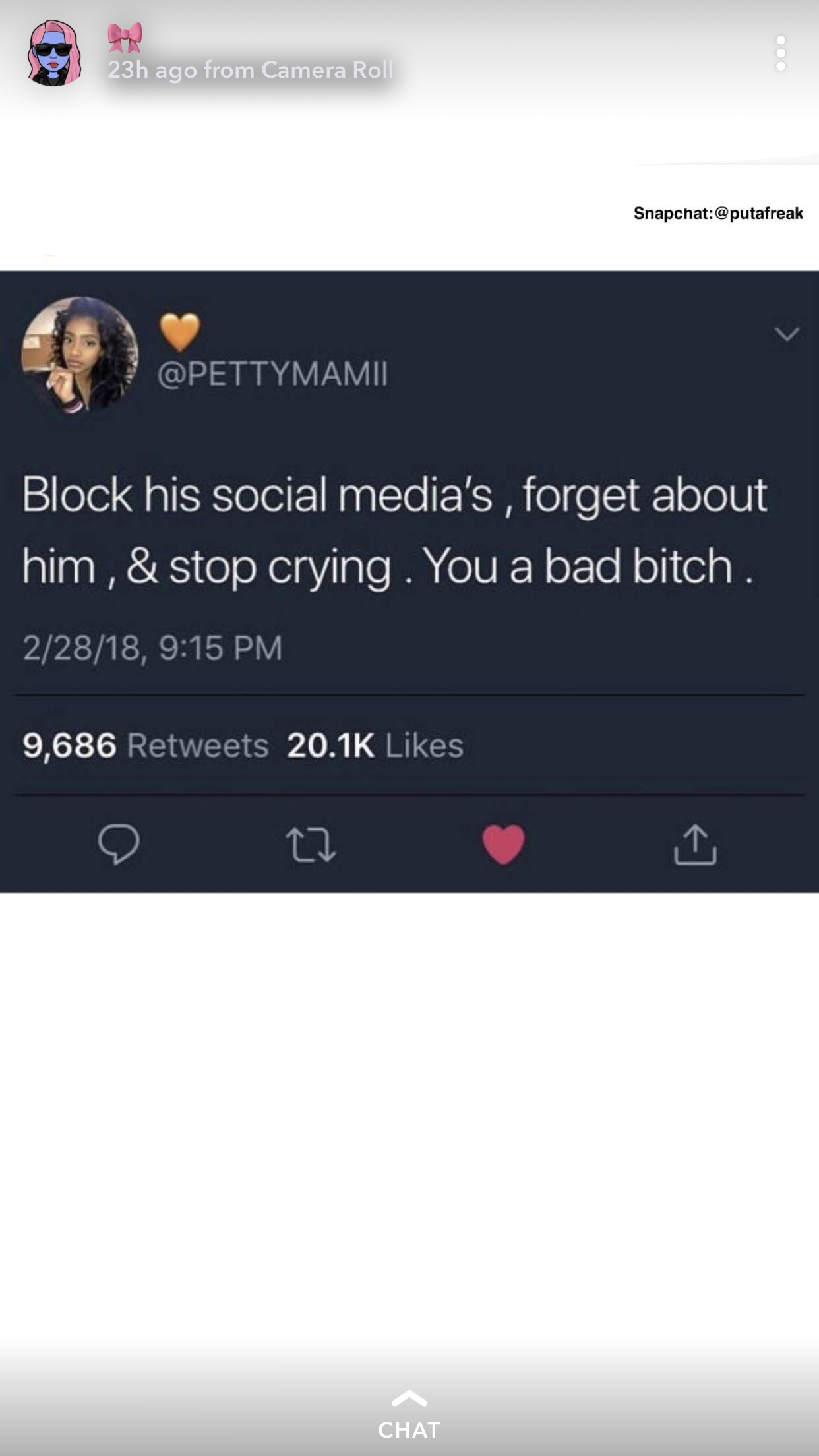 Should i block him to get over him