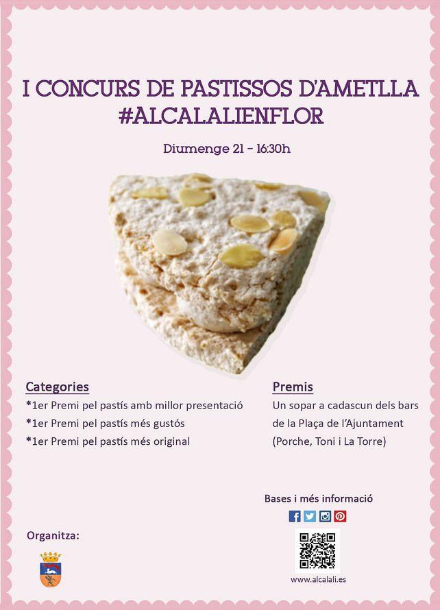 I Concurso de pasteles de almendras en Alcalalí