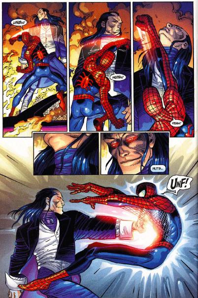 Stand Up and Cheer Moments Part I: Overcoming Morlun | Spiderman, Man vs, John romita jr