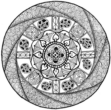 mandala coloring pages for beginners - zentangle patterns for beginners bing images drawing