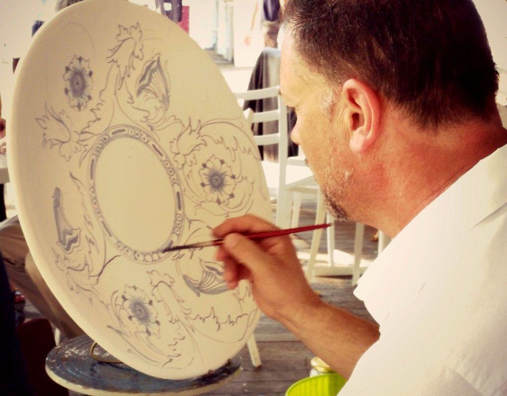 Ceramiche Toscane Montelupo Fiorentino montelupo fiorentino (firenze) - un maestro artigiano