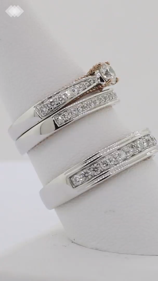 The Tied Together Collection S Forever Trio Ring Set By My Trio