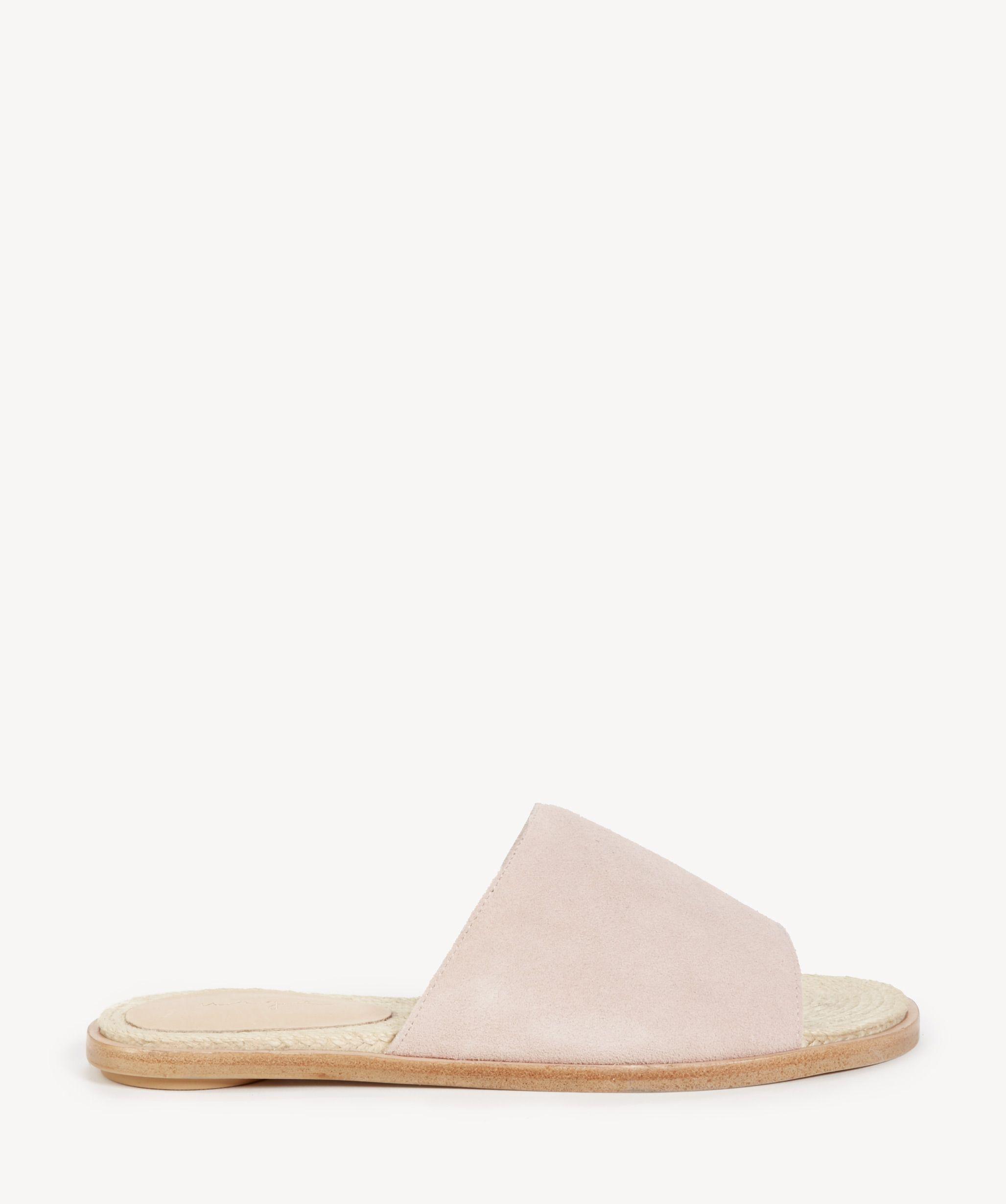 a95bf27624c Urge Latesha Flats Sandals Blush