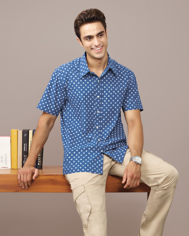 c2976dc5 prints #casual #shirts #cotton #men #Fabindia | Fabindia- Menswear ...