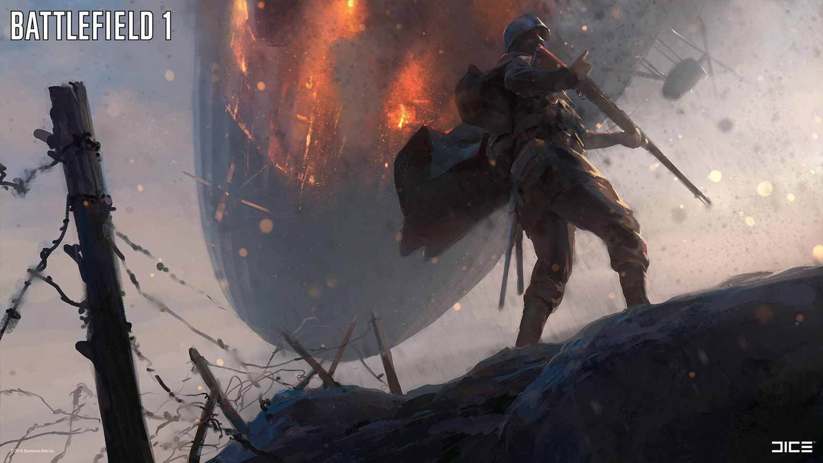 Battlefield 1 Concept Art Robert Sammelin On Artstation At