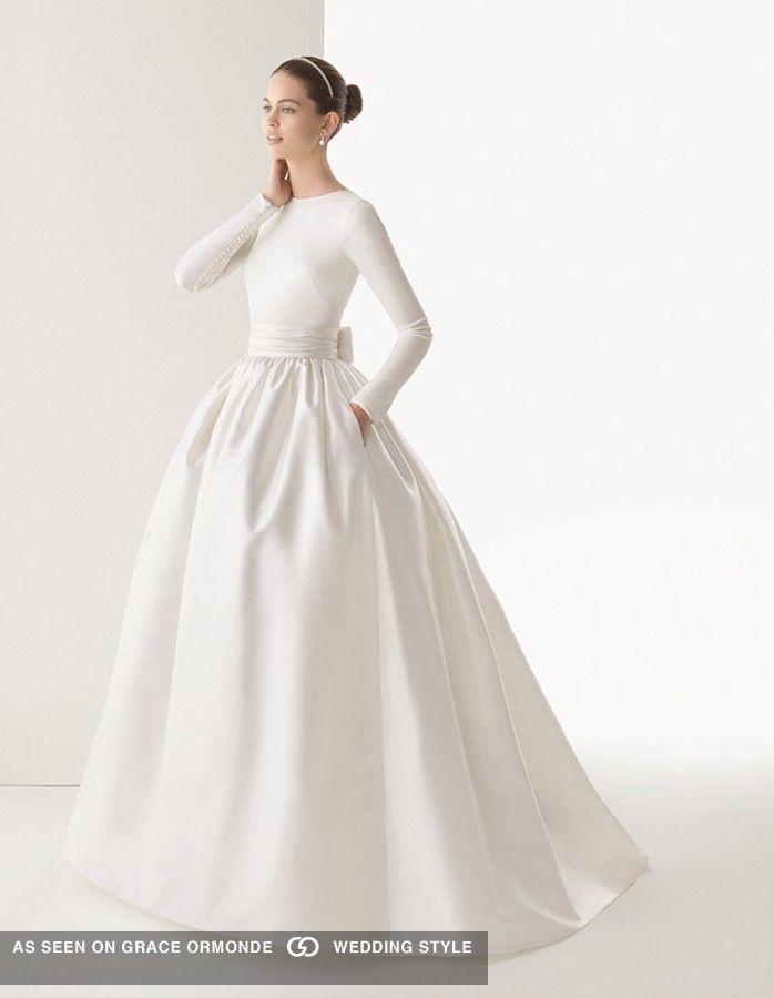 rosa clara designer bridal gown