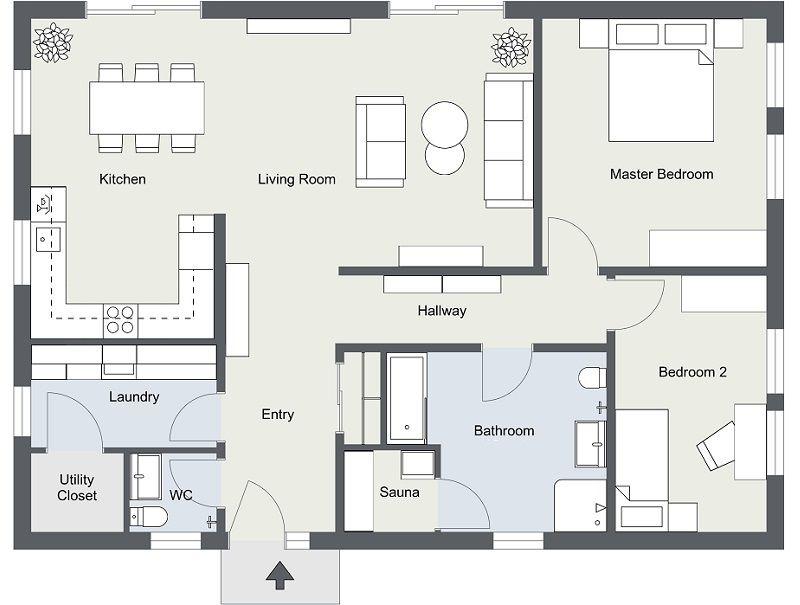 Order Floor Plans We Draw For You Floor Plans Floor Plan App Log Home Floor Plans