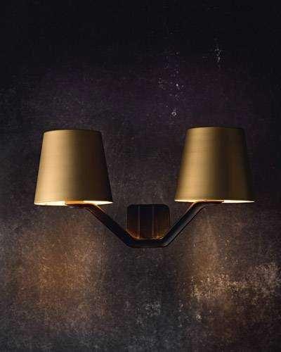 Base Wall Light Brushed Brass Brass Wall Light Wall Lights Tom Dixon Lighting