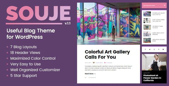 Download souje v12 useful blog theme for wordpress nulled latest download souje v12 useful blog theme for wordpress nulled latest version altavistaventures