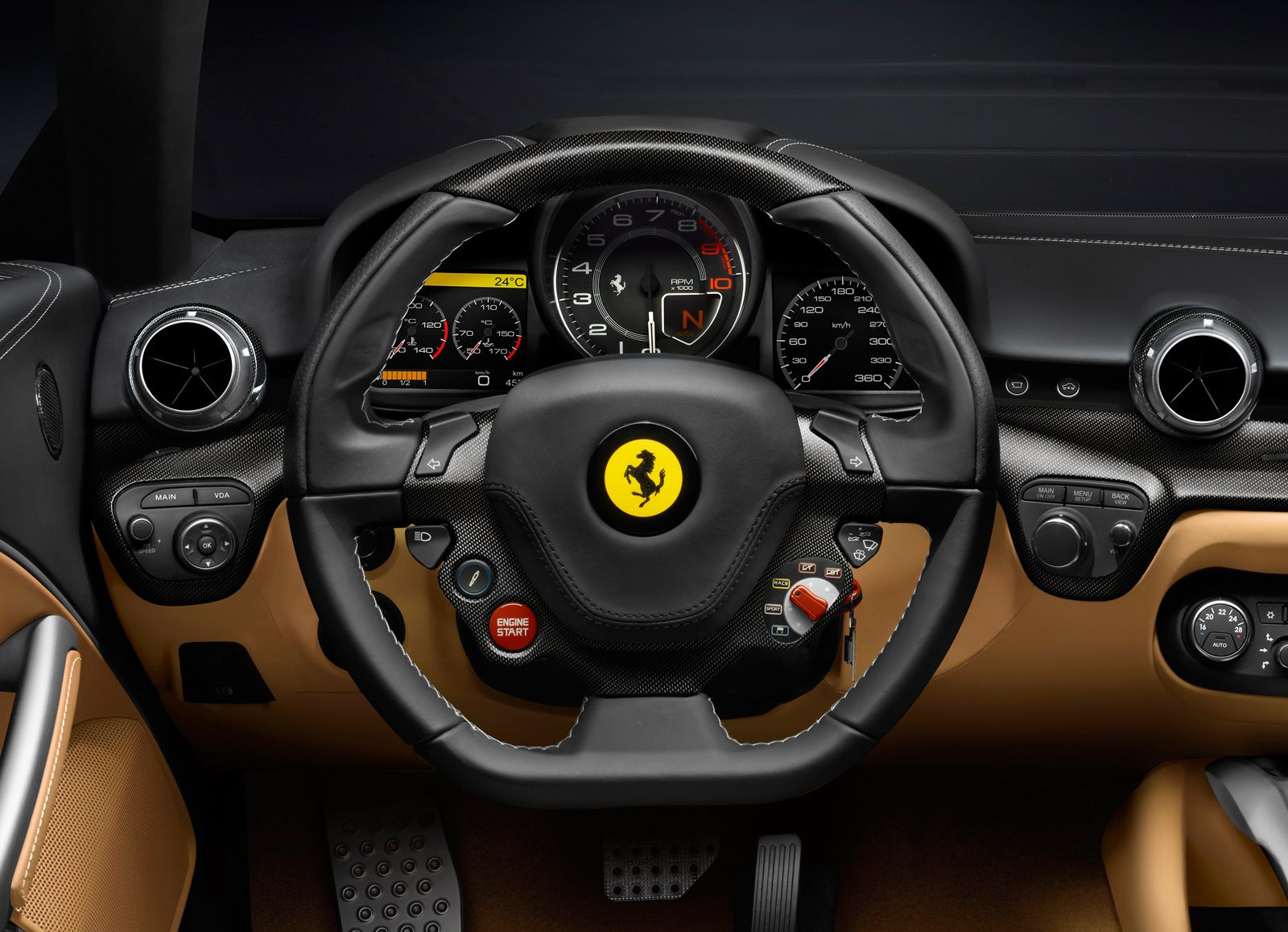 Nice view looks good as an ipad background want to look at it the cockpit of the new 2013 ferrari berlinetta vanachro Gallery