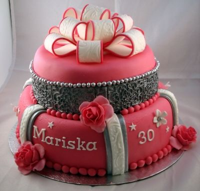 Birthday Cake For 30 Year Old Women By Miranda80 On CakeCentral
