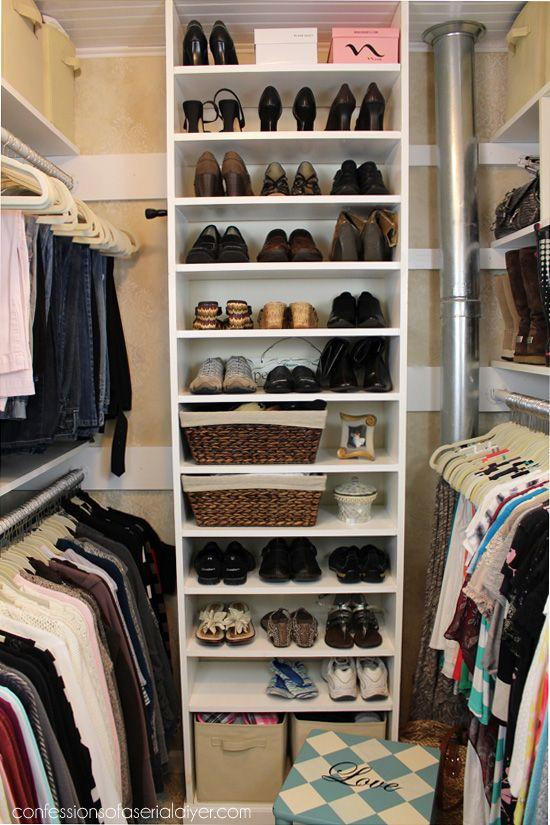 1000 ideas sobre dise o closet en pinterest - Organizacion armarios ...