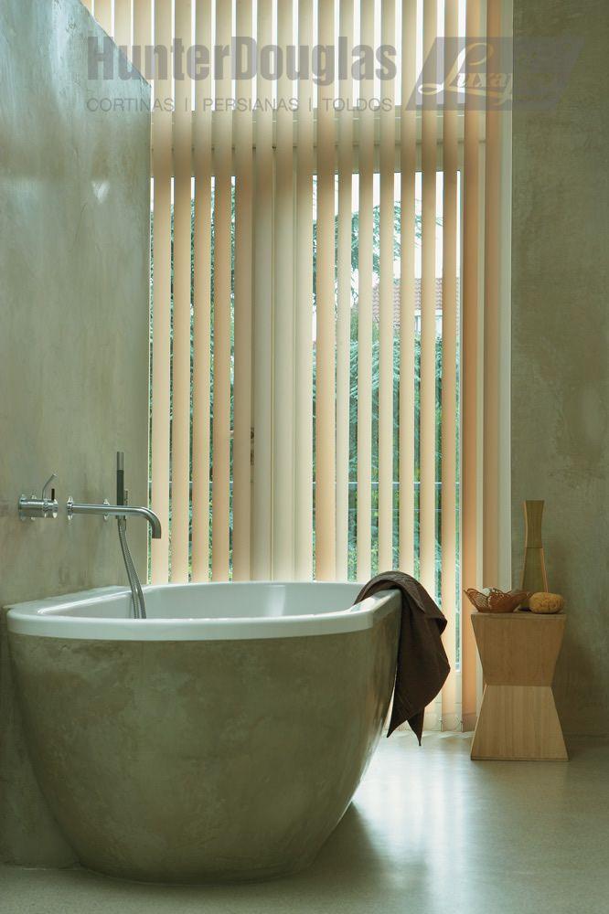 Cortinas Verticales HunterDouglas Luxaflex® cortinas Pinterest