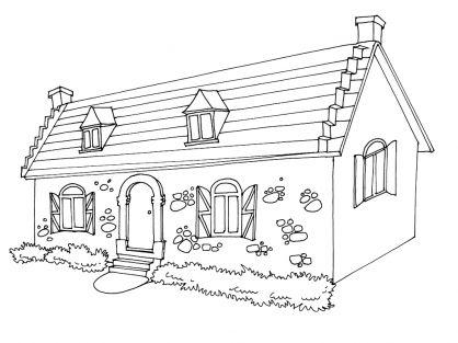 Dessins de maisons bretonnes ventana blog for Dessins maison