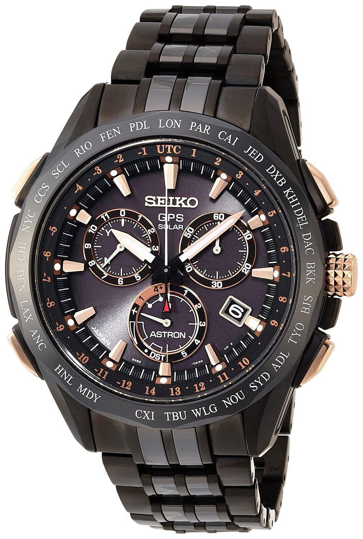Seiko reloj hombre Astron GPS Solar cronógrafo SSE019J1  48af941e73f1