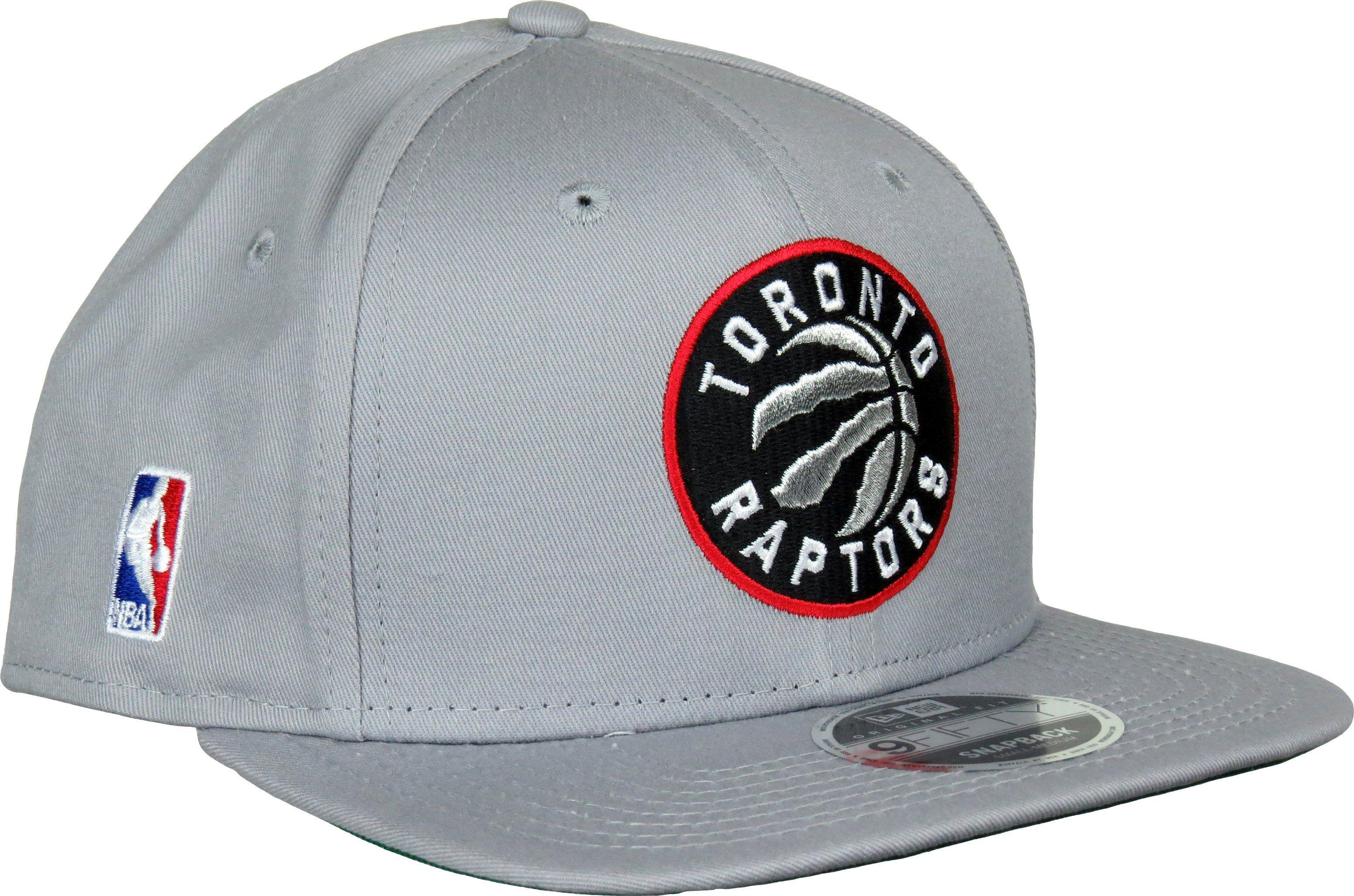 d829bfdb137755 New Era NBA Classic 950 Original Fit Snapback Cap. Grey with the Toronto  Raptors front logo, the New Era and NBA side logo's, and the Green Visor  underside.