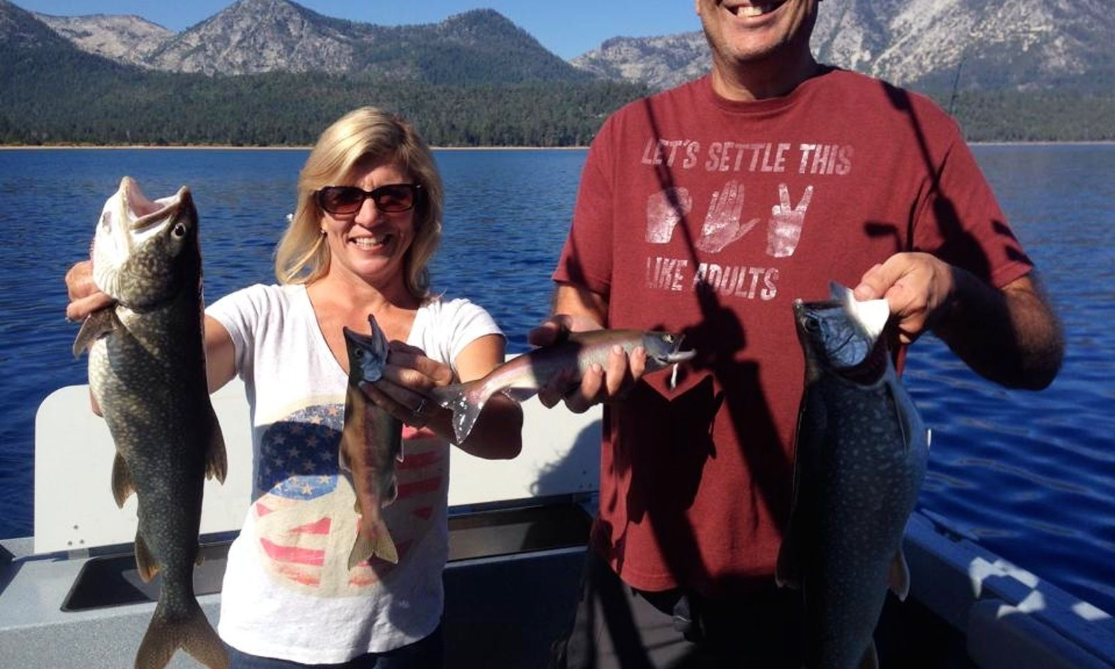 21 39 jetcraft fishing charter in south lake tahoe fishing