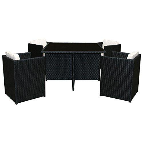 Excellent Charles Bentley Garden Wicker Rattan 5 Piece Cube Furniture Evergreenethics Interior Chair Design Evergreenethicsorg